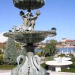 Fountain in the Hollis Garden in Lakeland