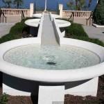 Hollis Garden fountain in Lakeland, Florida