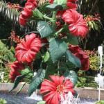 "The Kuala Lumpur Hibiscus Garden ""Hibiscus Fountain"""