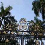 The King's Palace gate in Kuala Lumpur