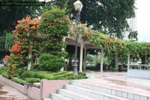 The gardens of Merdeka Square (Dakaran Merdeka)