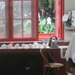 The tea tasting room at BOH Tea Plantation