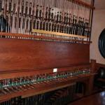 The Carillon clavier in Bok Tower