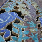 The tile grill at the top of Bok Tower