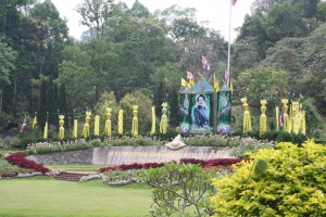 Queen Sirikit Botanic Garden entrance