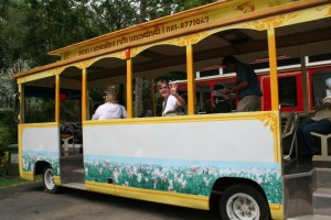 Queen Sirikit Botanic Garden Tram