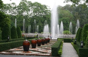 Herb Garden Lotus Pond