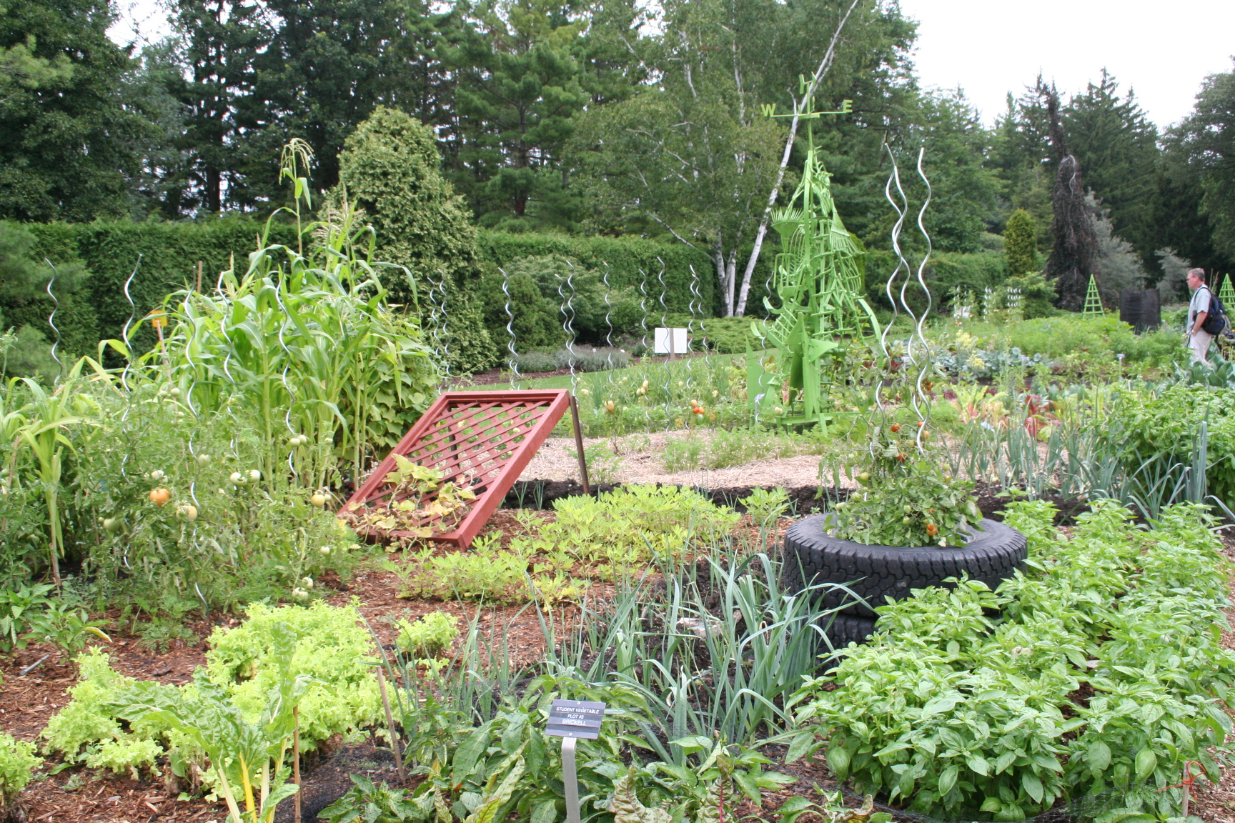 75 years of horticultural excellence in niagara falls for Vegetable garden plots design